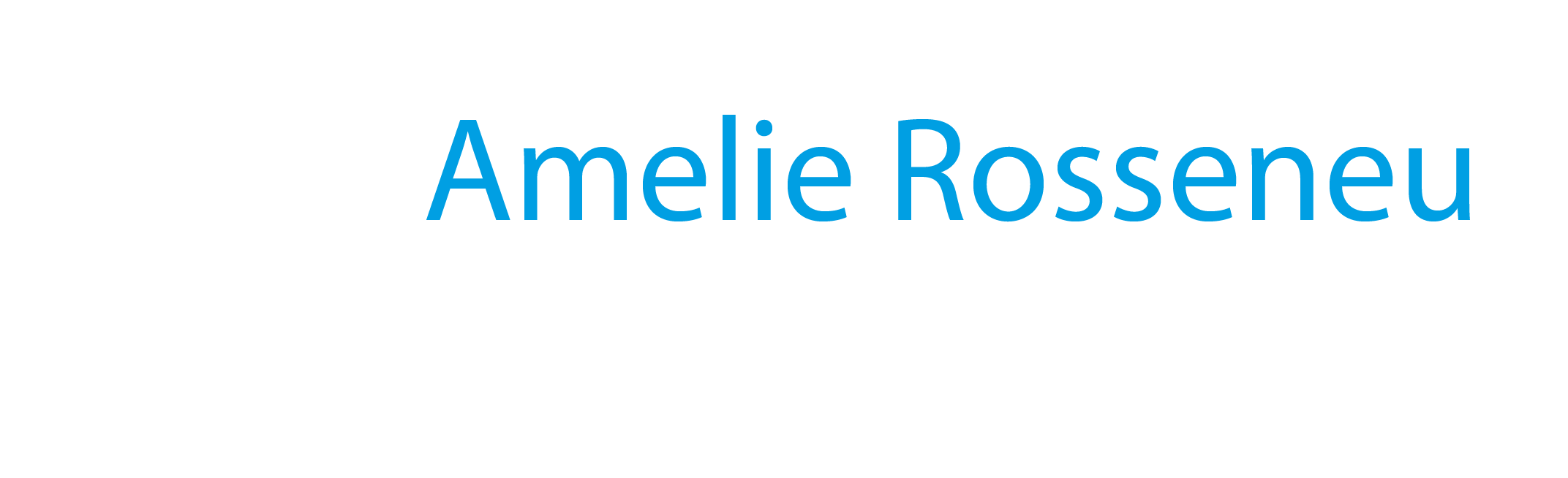 Amelie Rosseneu